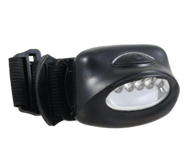 LED-Stirnleuchte mit 5 LEDs, Kopflampe, Sportleuchte, Stirnlampe