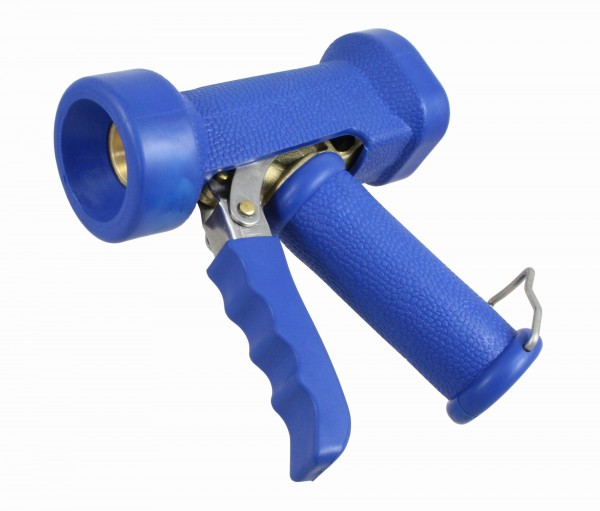 Profi-Reinigungspistole 1/2 Zoll, EPDM Ummantelung, Waschpistole, für Trink- und Heißwasser