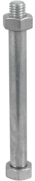 Lister Bolzen M10 mit 2 Muttern für Weidepumpe L3, Ersatzteil-Nr. 9