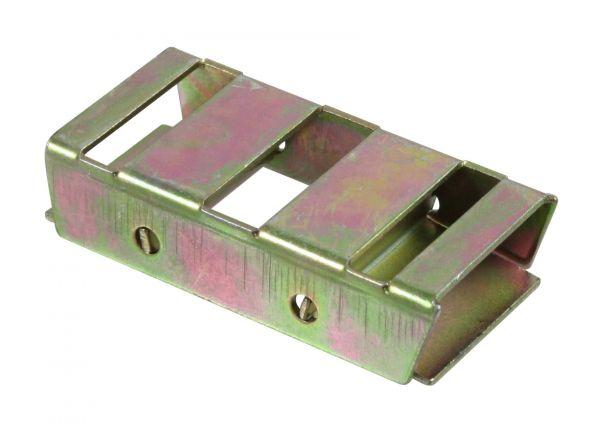 2x Bandverbinder bis 20mm, verzinkt, Verbindungsklemme für Weidezaunbänder