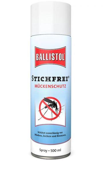 Ballistol Stichfrei® 500ml Spray, Mückenschutzspray mit Hautpflege und UV-Filter