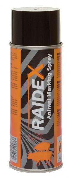 Raidex® Viehzeichenspray 400ml Orange, Markierungsspray zur Kennzeichnung von Tieren