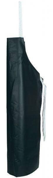 Arbeitsschürze PROFI aus Planenstoff, schwarz, Latzschürze für den professionellen Einsatz