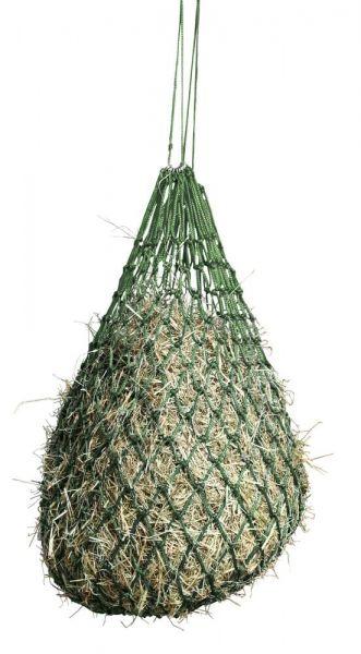 Heunetz engmaschig 5x5cm, grün, Futternetz für Pferde