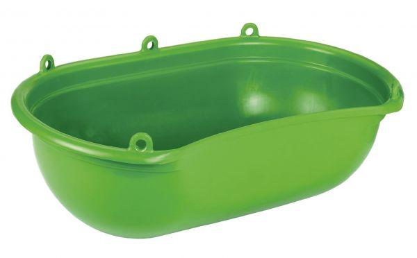 Streuwanne 20 Liter, mit Mulde, grün, 62x39cm, Sähwanne, Düngerwanne