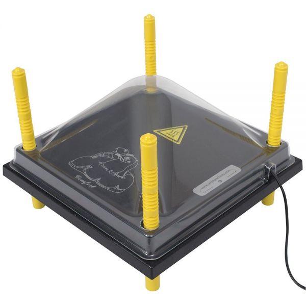 Schutzabdeckung 30x30cm für Wärmeplatte Comfort, Kunststoff (PET), Abdeckung, Schutzhaube