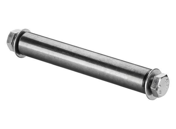 FORT Achsmaterial Ø25x150mm, für pannensichere Schubkarrenräder, Schubkarrenachse
