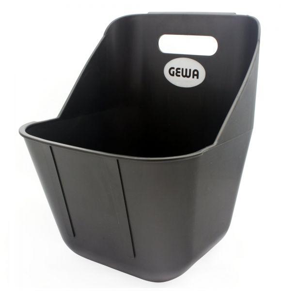 GEWA Kraftfuttertrog 11 Liter, 28x28x38cm, Futtertrog für Zusatzfutter
