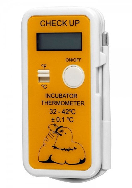 Digitales Brutthermometer CHECK-UP (32-42°C), mit LCD Display, zur Kontrolle der Bruttemperatur