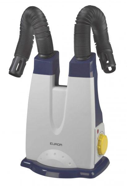 Eurom® Schuhtrockner 2.0, Heizgebläse, Schuhheizer zum Trocknen von Schuhen und Stiefeln