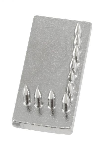 Schlagstempel-Buchstabe: L (20mm), Buchstabe, Einsatz für Schlagstempel