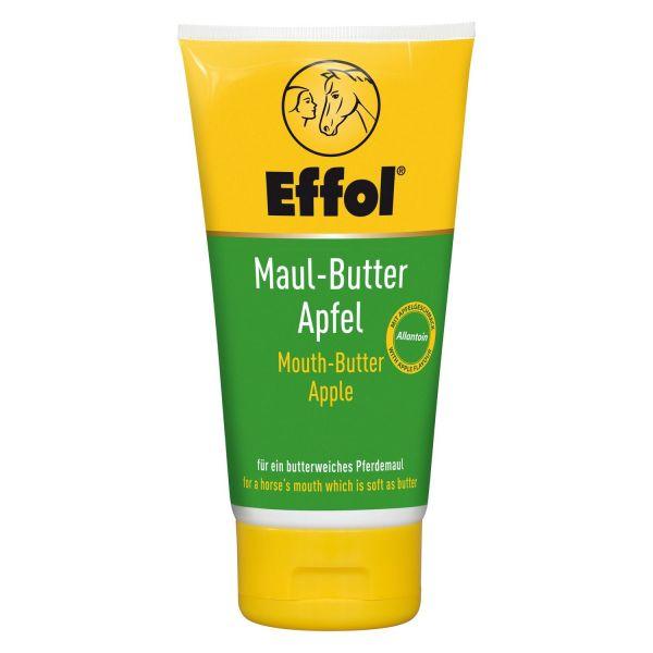 Effol® Maul-Butter Apfel 150ml, für ein butterweiches Pferdemaul, Lippenbalsam mit Apfelgeschmack