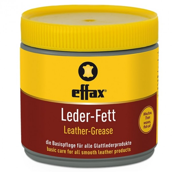 Effax® Leder-Fett 500ml, farblos, der bewährte Klassiker für die Lederpflege
