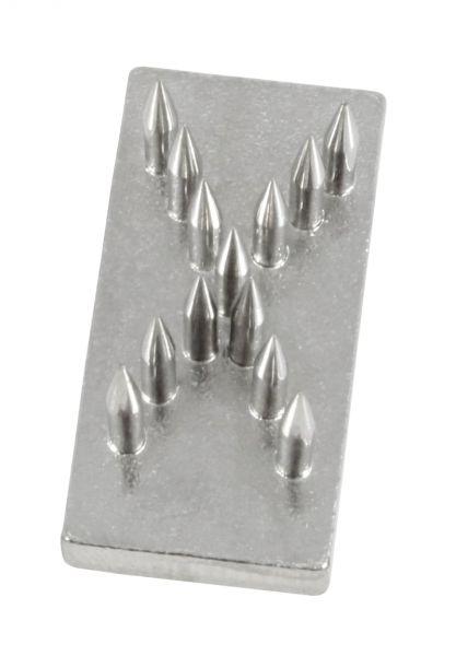 Schlagstempel-Buchstabe: X (20mm), Buchstabe, Einsatz für Schlagstempel