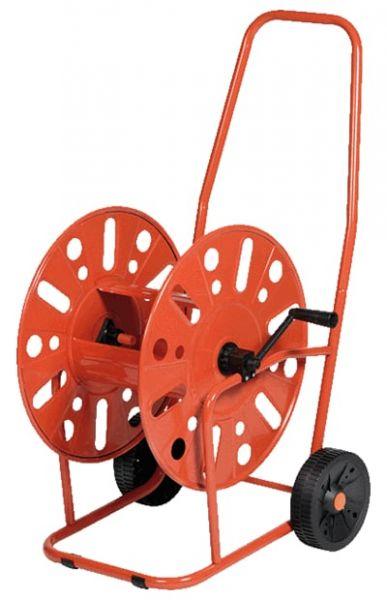 Schlauchwagen Mod. 317, Stahl, mit Handkurbel, für 90m 3/4 Zoll Schlauch