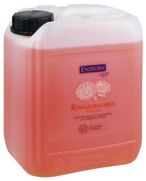 Enzborn® Ringelblumen Handseife 5 Liter, sanfte Reinigung für empfindliche und strapazierte Hände
