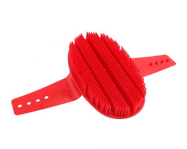 GEWA Nadelstriegel aus Kunststoff, farblich sortiert, Striegel zum Glätten des Fells von Pferden