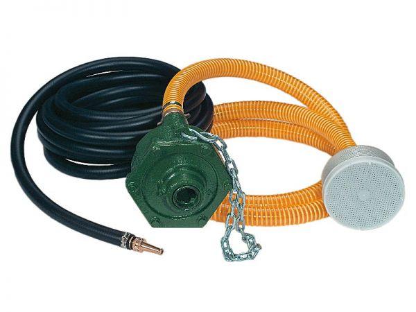 Zapfwellenpumpe ML 20, 7kW, 70-180 Liter, mit Fangkette, 3m Saugschlaulch, 7m Druckschlaluch, Saugko
