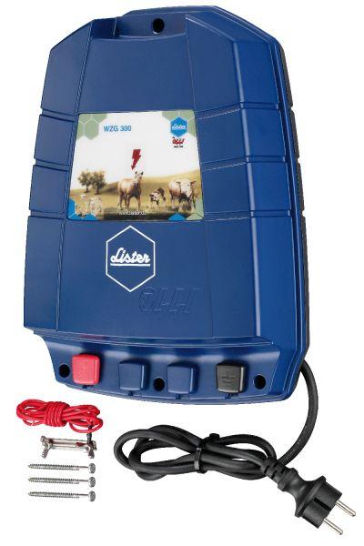Lister Weidezaungerät WZG 300, 230 Volt Netzgerät
