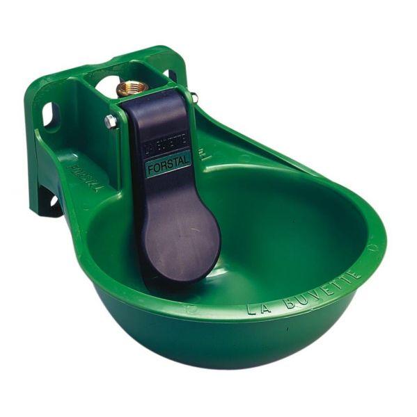 La Buvette® Tränkebecken FORSTAL mit kurzer Druckzunge für Rinder und Pferde