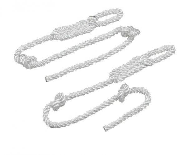 Ersatzstrick für Geburtshelfer, 85cm, Nylon, paarweise