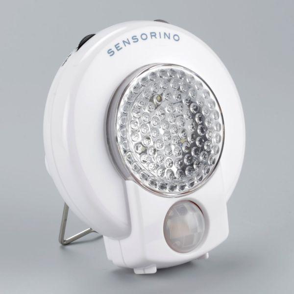 Ampercell® LED-Leuchte SENSORINO mit Bewegungsmelder, weiße LED-Warnleuchte - 05400