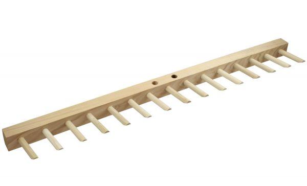 Ersatzbalken mit 15 Zinken, Breite 75cm, für Ammerländer Holzrechen Oldenburger Modell