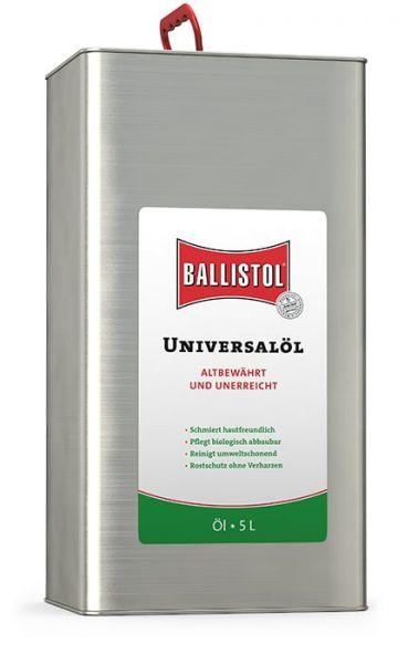 Ballistol® Universalöl 5 Liter Kanister, bewährtes Spezialmittel, Multifunktionsöl, Pflegeöl