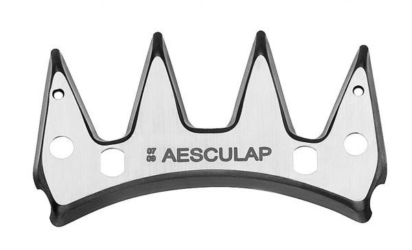 Aesculap Schermesser GT578, 4 Zähne, Obermesser, Schneiplatte