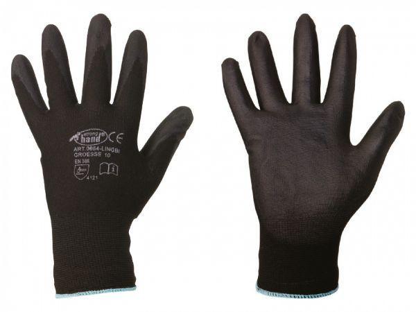 Stronghand® Feinstrick-Handschuhe LINGBI Größe 11 (XXL), mit PU-Beschichtung