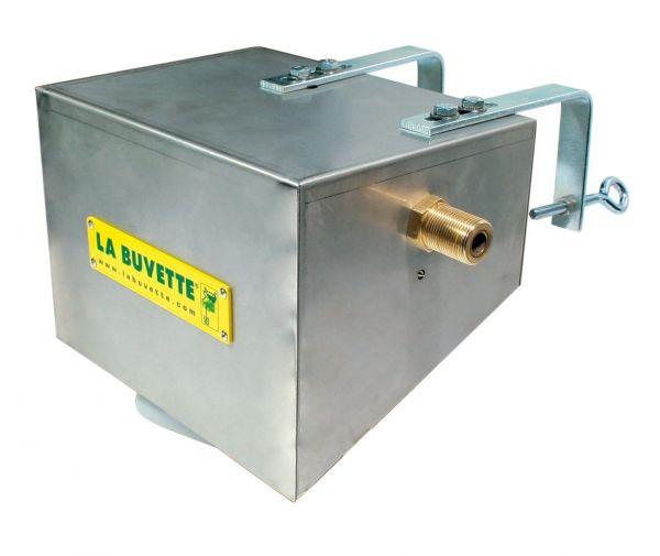 La Buvette® Einbau-Schwimmerventil LACABAC 72, Schwimmer für Tröge, Wannen und Behälter, A672