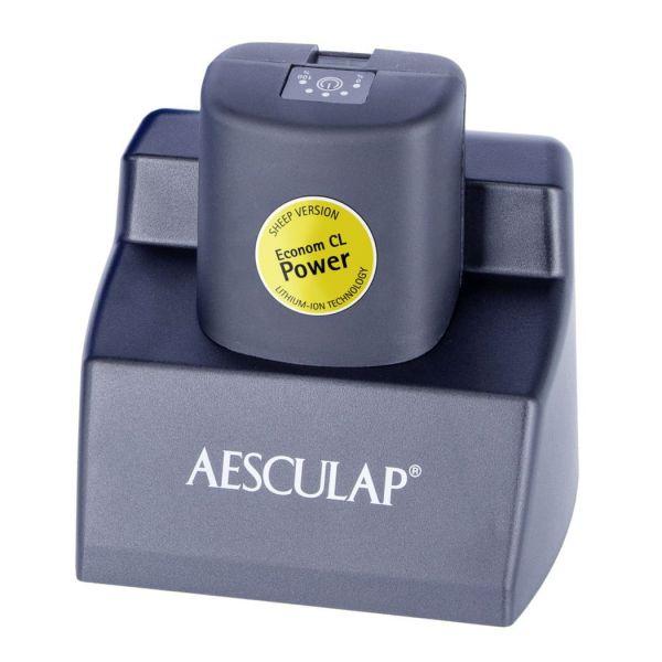 Aesculap Ladegerät GT803 mit Netzteil, Ladeschale für Akku GT801 und GT821