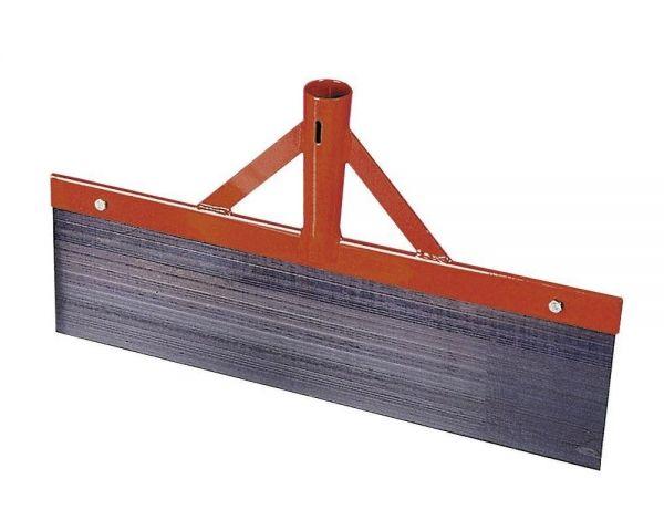 Stoßscharre 50cm, Stallkratzer mit 1mm Federstahlblech, zur Reinigung des Laufstalles, ohne Stiel