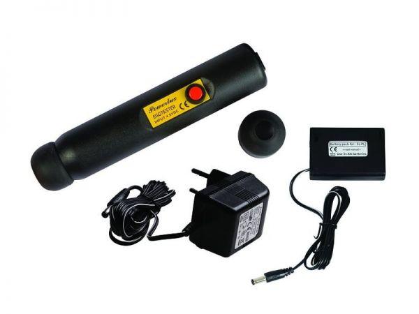 LED-Eierschierlampe POWER-LUX, für Netz- und Akkubetrieb, Schierlampe für Hühnereier, Eierprüfer