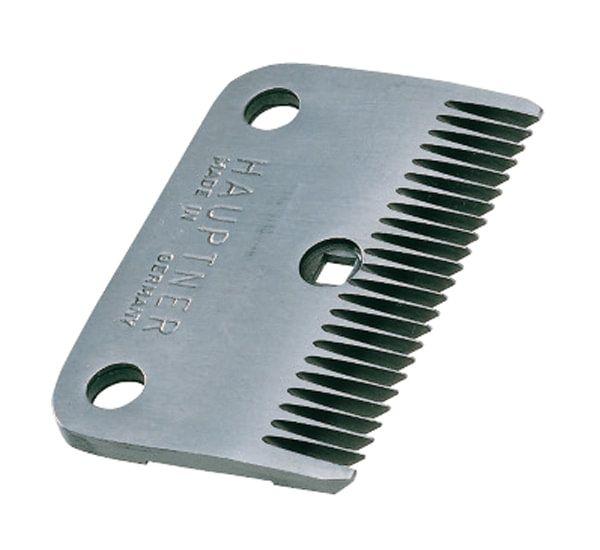 Hauptner Schermesser 86832, Nachschur-Unterkamm, 24 Zähne, für die Rinderschur