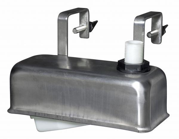 Monoflo® Einbau-Schwimmerventil mit Edelstahlgehäuse, Schwimmer für Tröge, Wannen und Behälter