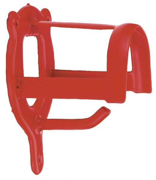 Trensenhalter aus Metall, rot, Halterung für Trensen und Zubehör
