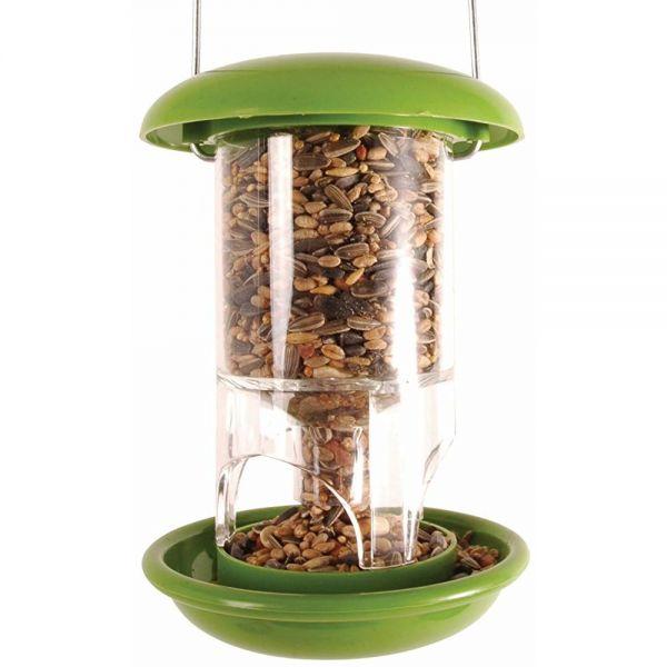 Esschert Design Futtersilo Kunststoff, hängend, Futterstation für Vögel, FB118