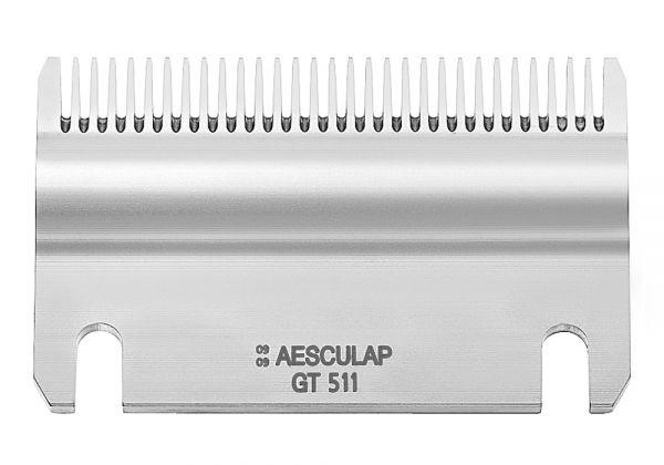 Aesculap Schermesser Econom GT511, 31 Zähne, Untermesser 1 mm, Schneidplatte