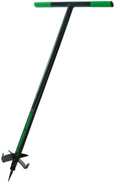 Freund-Victoria® Erdlochbohrer 67496, Ø150mm, 106cm, mit Stahlstiel und Tiefenskala, 1990639