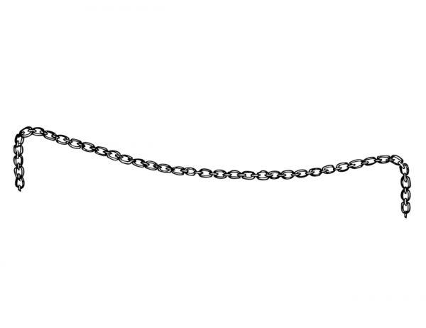 Kette für Vink Klauenpflegestand, Ersatzkette verzinkt, HBB07