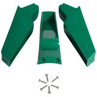 3x Standfüße für Automatische Geflügeltränke 18 Liter (14-360), Füße für Geflügel-Tränkeeimer