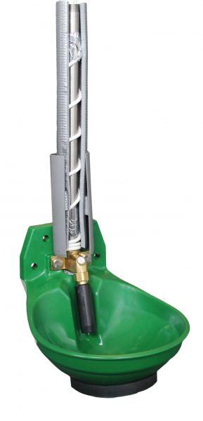 Suevia Heizbares Tränkebecken Mod. 12P-HK mit 3/4 Zoll Messing-Ventil +3m Heizleitung - 100.0124