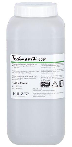 Technovit® 6091, Pulver 1000g, für das Universalhilfsmittel zur Klauenbehandlung von Rindern