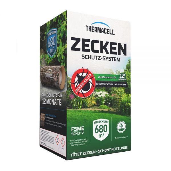 Thermacell® Zecken-Schutzsystem, 16 Zeckenschutzrollen zur natürlichen Bekämpfung von Zecken im Gart