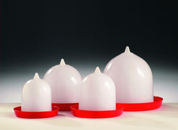 Original Stükerjürgen Geflügeltränke 3 Liter, ohne Aufhängung, Stülptränke für Hühner und Geflügel