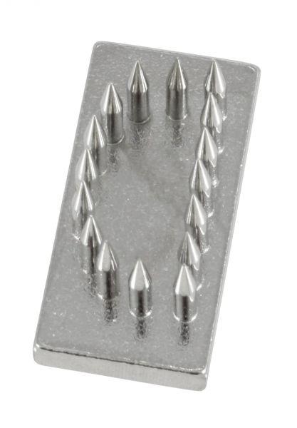 Schlagstempel-Buchstabe: D (20mm), Buchstabe, Einsatz für Schlagstempel