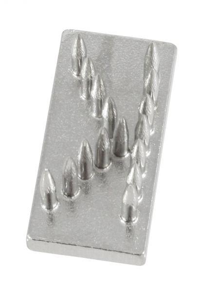 Schlagstempel-Buchstabe: K (20mm), Buchstabe, Einsatz für Schlagstempel