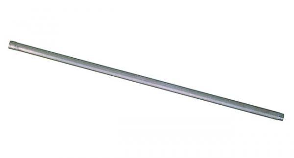 Monoflo® Edelstahlrohr 100cm, 1/2 Zoll (IG/AG), gerade, Wasserrohr für Tränkenippel