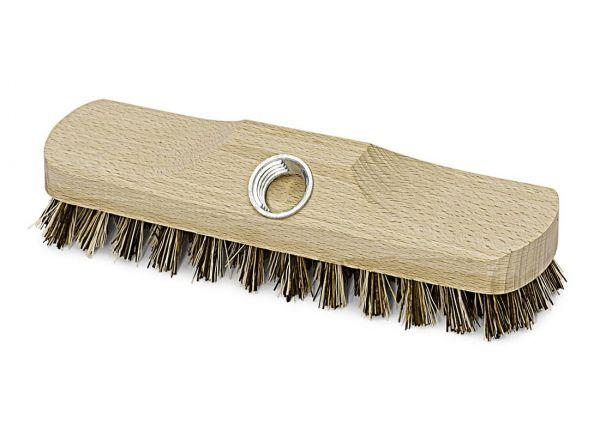 Schrubber 22cm, Union, mit Gewinde, besonders hart, Bodenschrubber, ohne Stiel